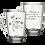 Thumbnail: Canecas de Vidro Personalizada Modelo Tarsila para Café ou Chá 300ml