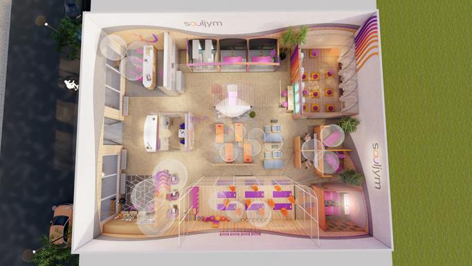Boutique gym layout