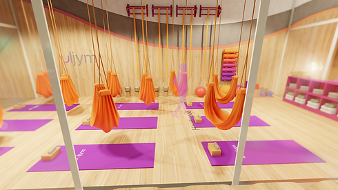 The movement studio at Souljym is focused on the mind heart and body connection