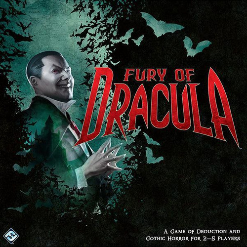 The Fury of Dracula Board Game ad