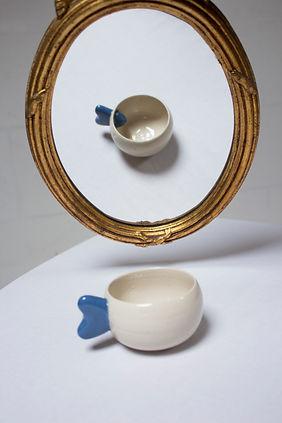 tasse alice bleue coeur