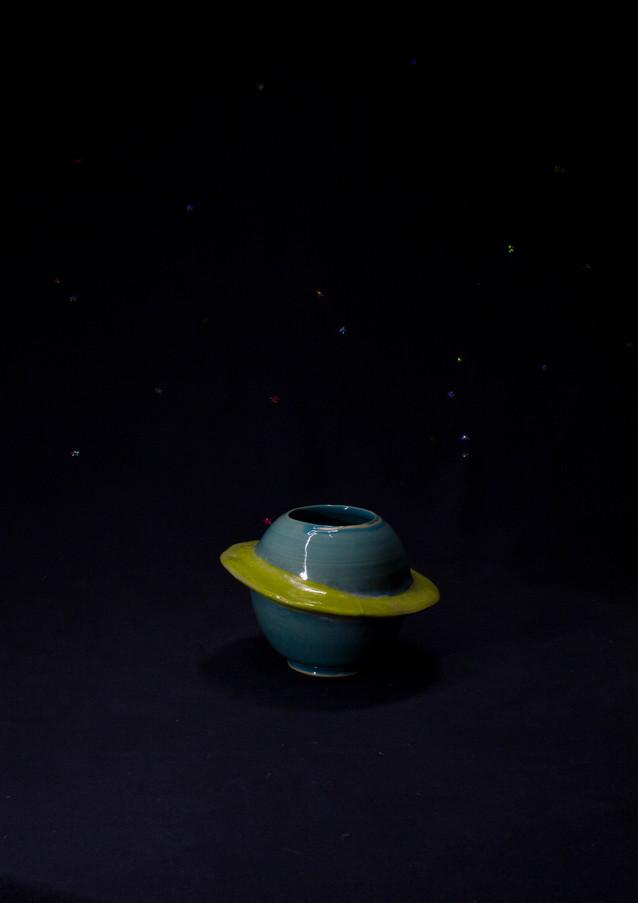 Saturne bleue