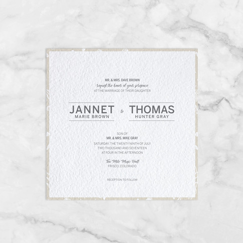 Jannet and Thomas