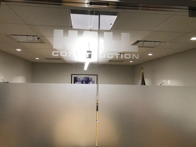 Hall Conctruction logo