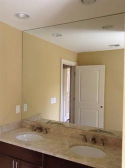Double sink mirror