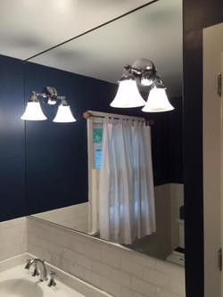 vanity mirror, electric cutouts