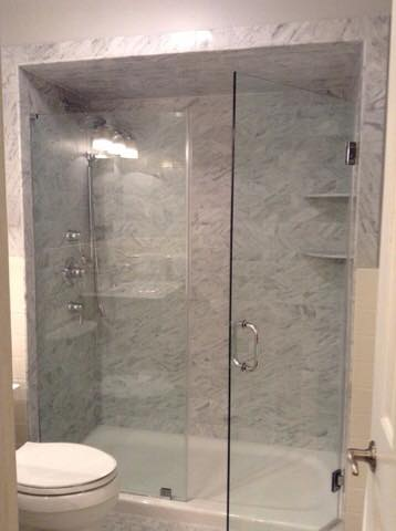 Bathtub Frameless Shower