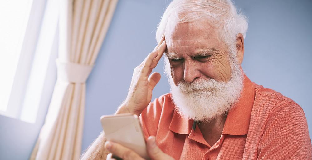 Malas noticias a Adultos mayores