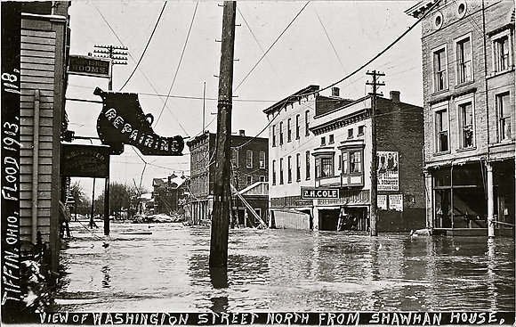 1913 Flood Postcards (set of 5)