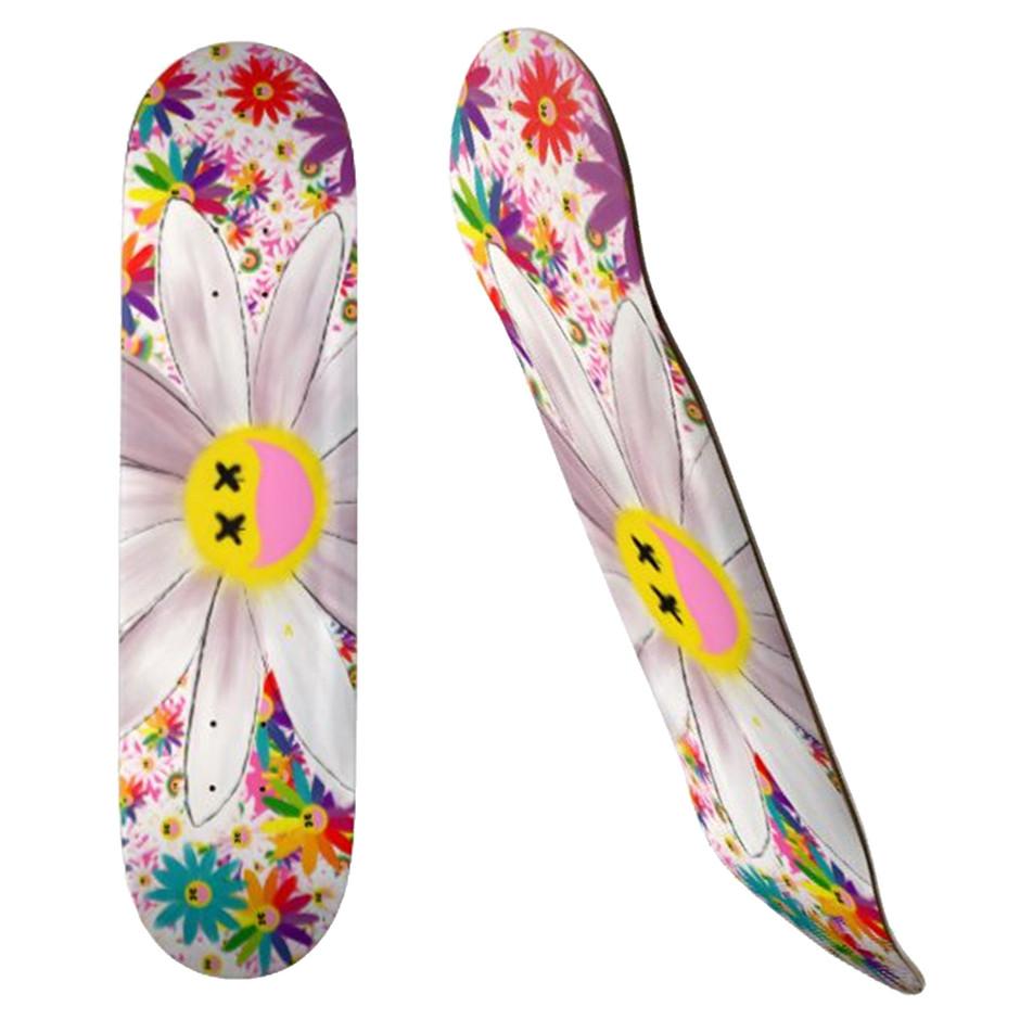 SUPER FLOWER Skateboard, 19.7cm Deck