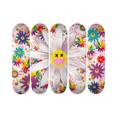SUPER FLOWER SKATEBOARD SERIES 19.7cm Deck
