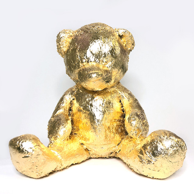 GOLD TEDDY BEAR