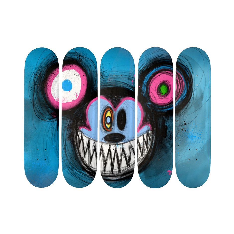 MOUSE PINK/BLUE SERIES 19.7cm Deck
