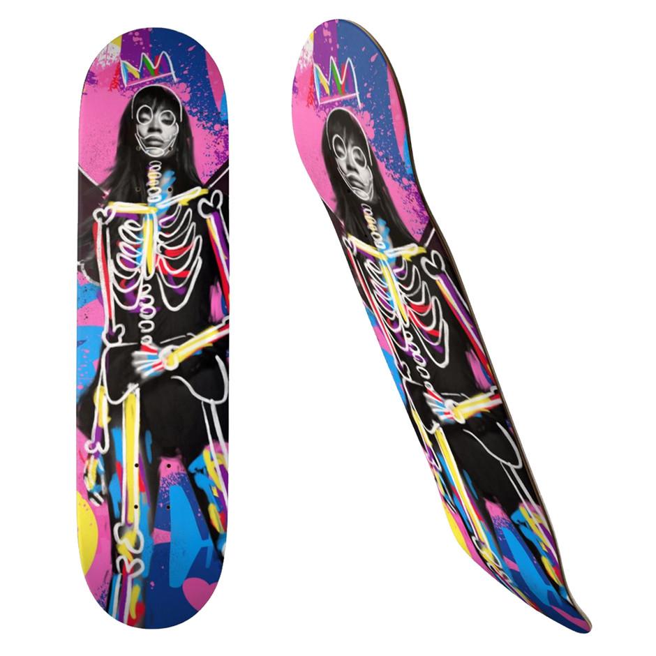 NAOMI Skateboard, 19.7cm Deck