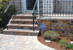 Free Railing with New Steps