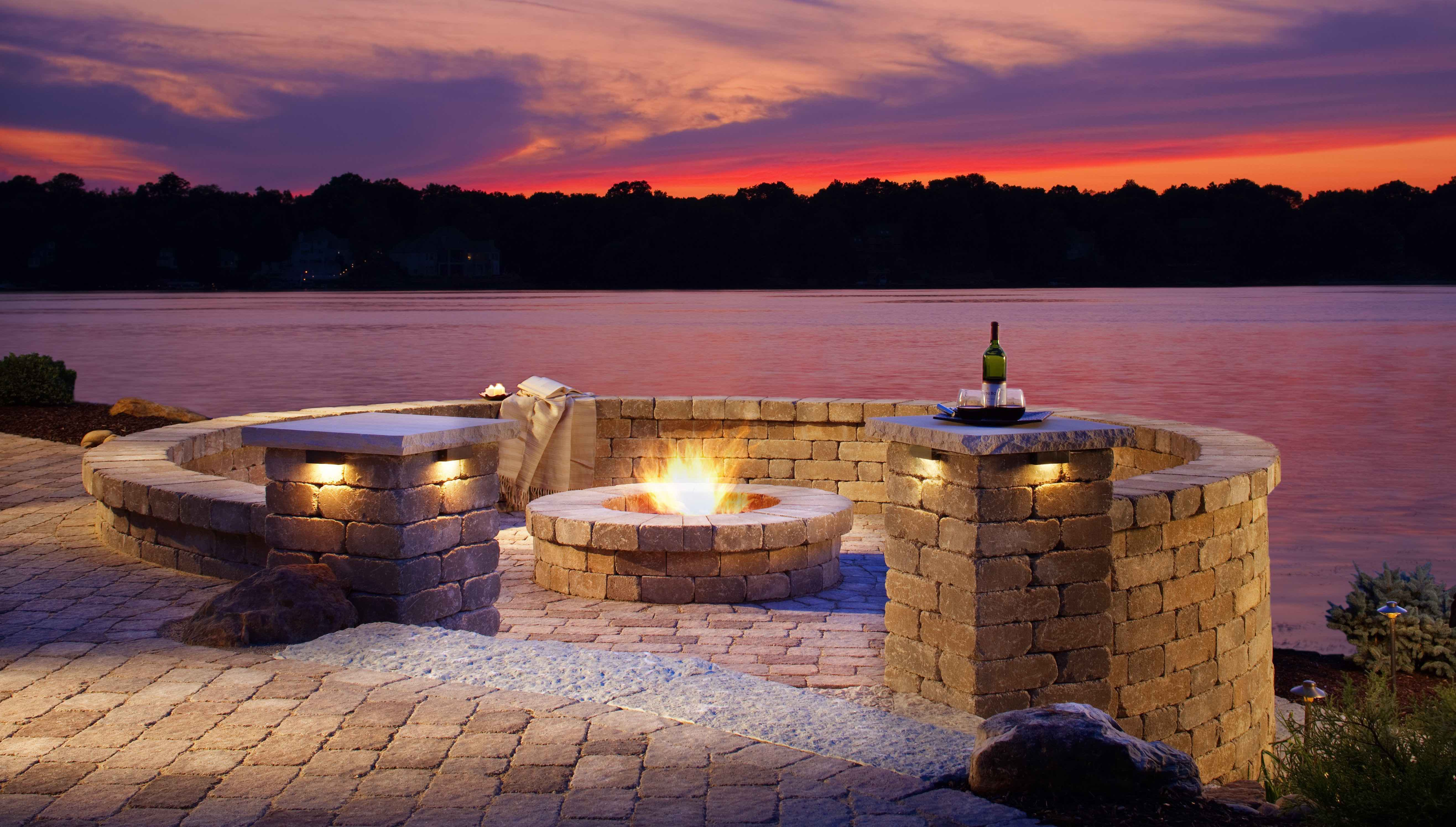 Complimentary Fire Pit
