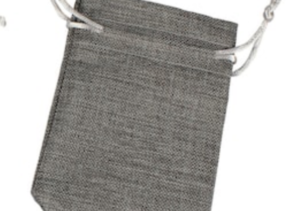Grey Mask Bag with Zip Bag Inserts
