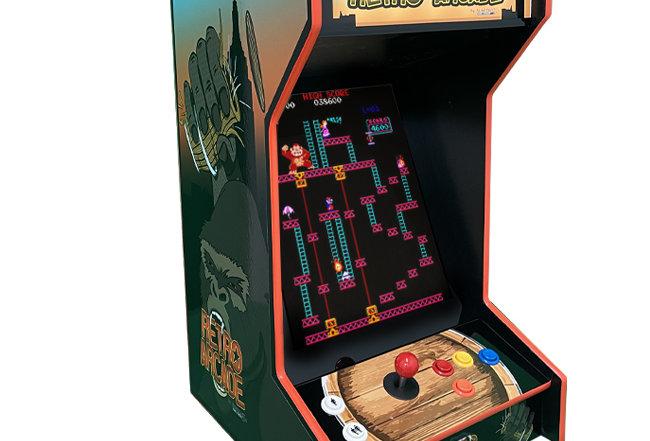 Tabletop Retro Kong Arcade Machine | Lit Marquee | 60 Games