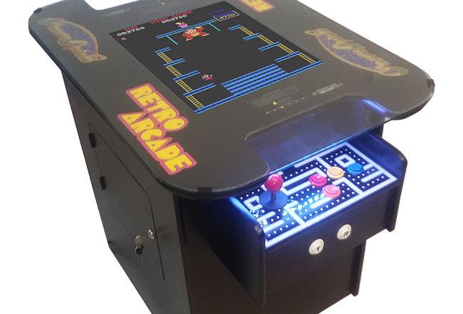 Premium Cocktail Arcade Machine | 412 Games