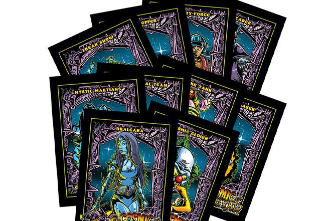 Cosmic Carnival Trading Cards