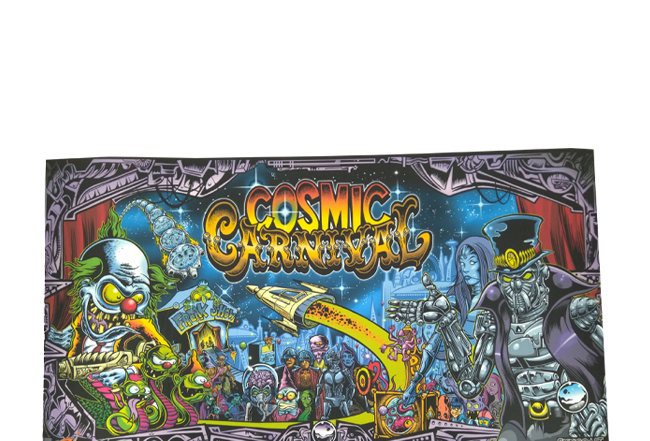 Cosmic Carnival Translite