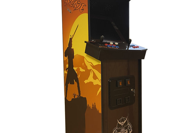 Full Size Side-By-SideArcade Machine | 3000 Games