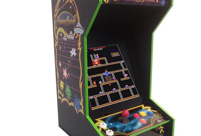 Tabletop Black Classic Arcade Machine | Lit Marquee | 412 Games