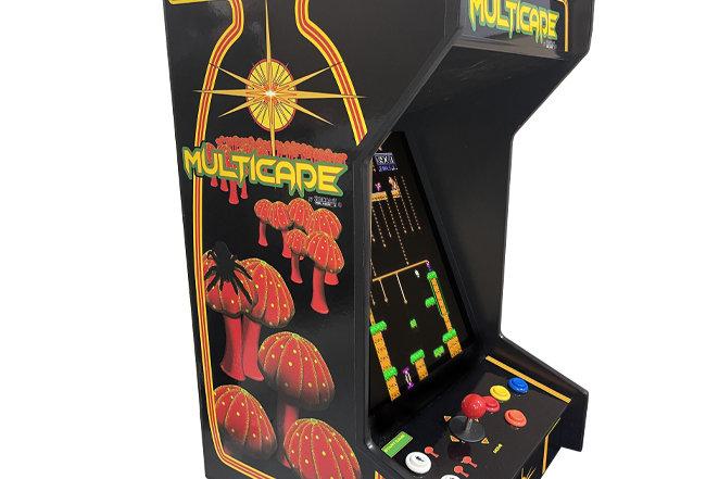 Tabletop Multicade Arcade Machine | Lit Marquee | 412 Games