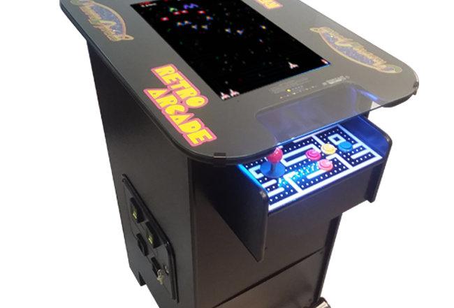 Premium Pub Height Cocktail Arcade Machine   412 Games