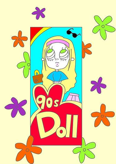 Poniteru 90S Doll.jpg