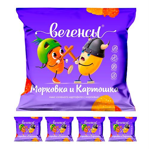 """Картофель сушёный """"Картошка с морковью"""""""