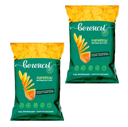 """Картофель сушёный """"Нечипсы картошка без соли"""""""