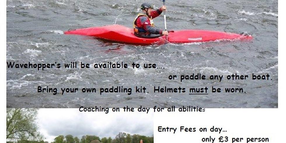 Carlisle Wavehopper WW Canoe Race 2020