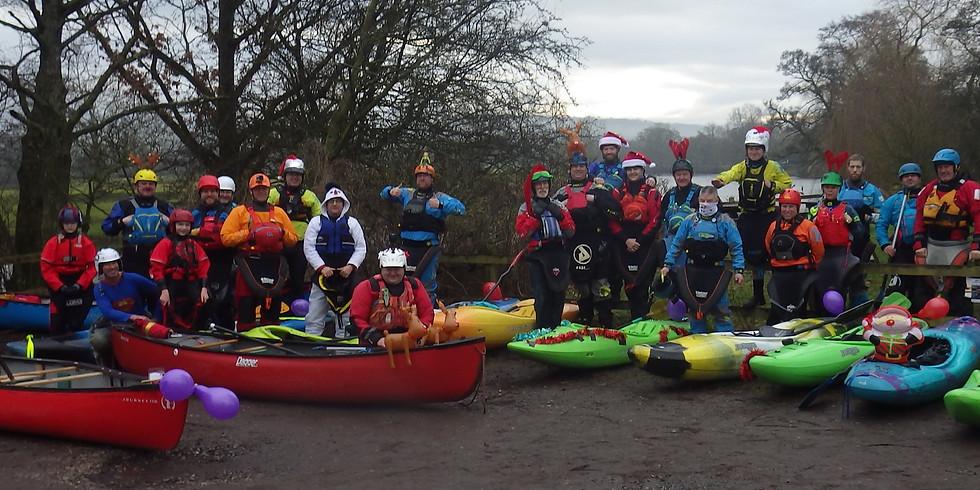 Covid safe Christmas lake paddle