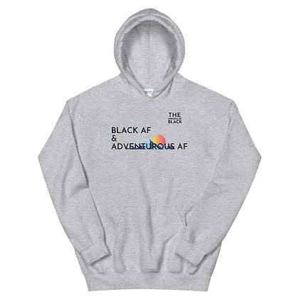 Black & Adventurous | Unisex Hoodie