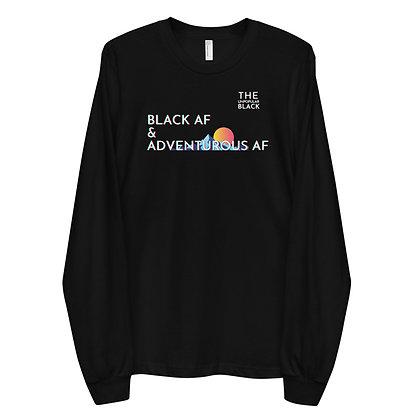 Black & Adventurous AF | Long sleeve