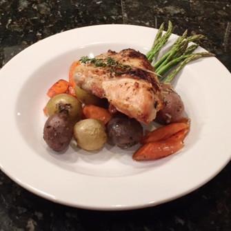Homestyle Roast and Veggies