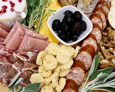 Holiday Charcuterie Board.