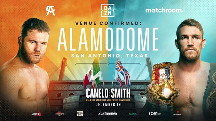 Alamodome to Host Canelo Smith