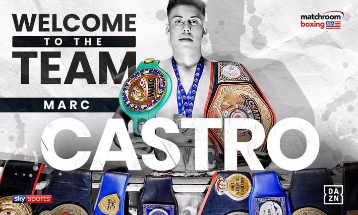 Matchroom Boxing USA Signs Marc Castro of Fresno, CA