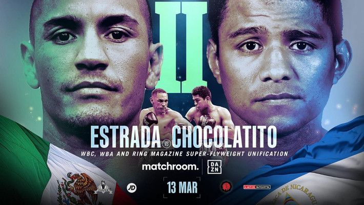 Gallo Estrada vs. Chocolatito Gonzalez Rematch March 13