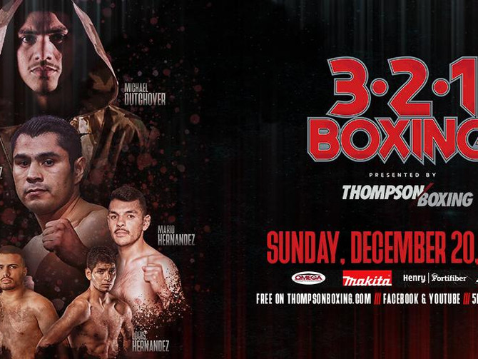 Michael Dutchover Headlines Thompson Boxing 3-2-1 Season Finale