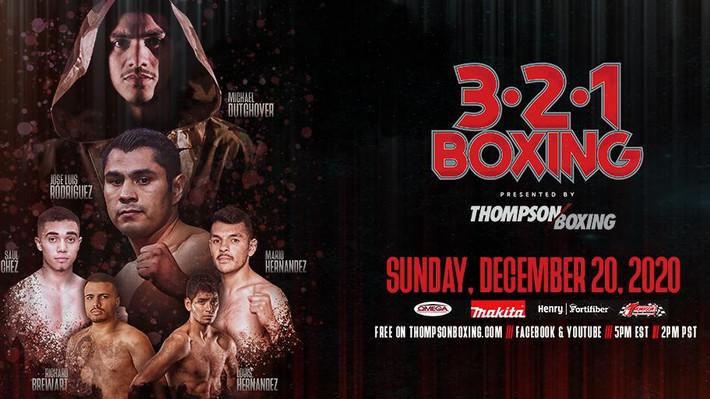 Michael Dutchover Headlines Thompson Boxing 3-2-1 Season Finale