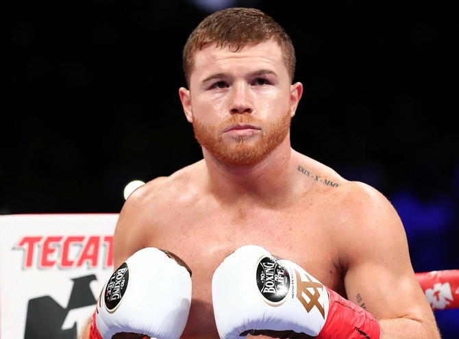 Canelo Files Lawsuit vs. Golden Boy & DAZN