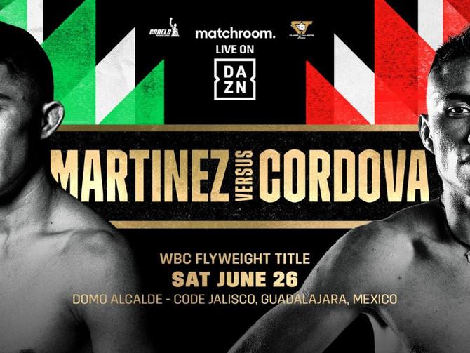 Julio Cesar Martinez vs. Joel Cordova June 26