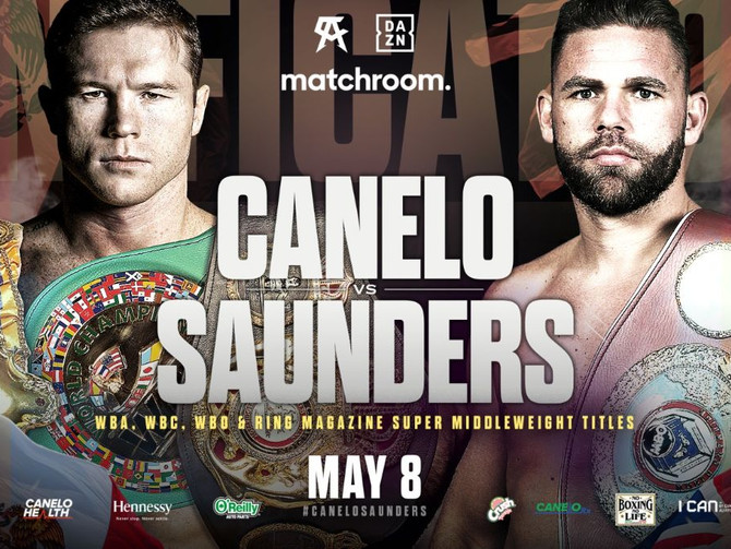 Canelo vs B.J. Saunders Unification Bout May 8th