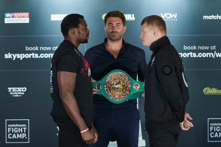 Dillain Whyte Alexander Povetkin + Katie Taylor Delfine Persoon Press Conference