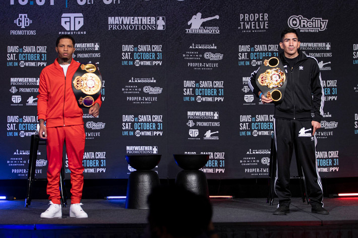 Gervonta Davis vs. Leo Santa Cruz Final Press Conference