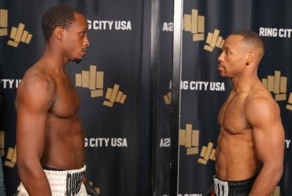 Ring City USA Weights from Hollywood: Adams Duversonne Make Weight