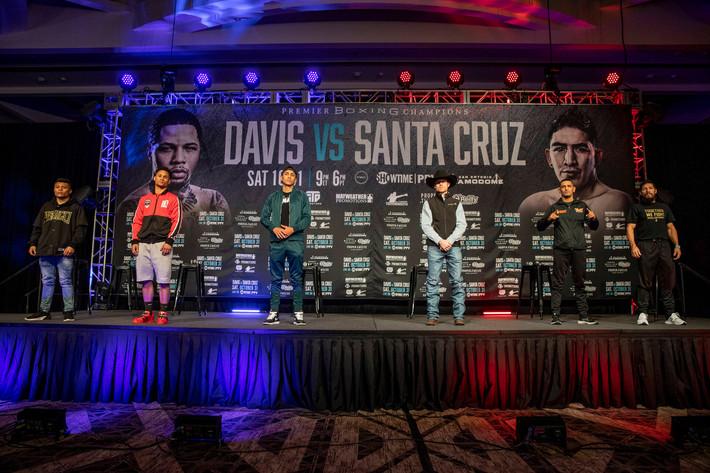 Davis Santa Cruz Undercard Press Conference